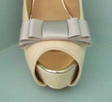 2 vison triple bow clips pour chaussures-autres couleurs sur demande