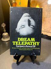 Dream Telepathy Experiments In Nocturnal Esp Montague Ullman Krippner 1973