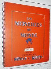 ALBUM NESTLE KOHLER CHOCOLAT N°3 1956-1957 COMPLET 288 IMAGES EGYPTE EGYPT