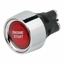 Push Button Red Illuminated Starter Switch Engine Start Race Rally