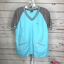 Metroscrubs Womens Short Sleeve Scrub Top Size Large