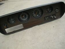 Chrysler Valiant Regal Dash Factory Radio Hole