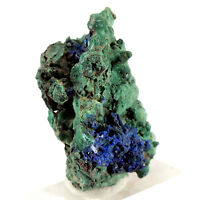 Malachite Azurite Mount Hope Copper Mine, Blaxland Co., New South Wales (EA6083)