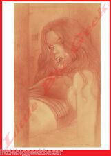 Dessin 3 ADRIANO DE VICENTIIS Crayonné Signé Numéroté 100ex Erotique 40 x 30 cm