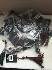 Joblot 36  handbag leather tassels mixed colours new