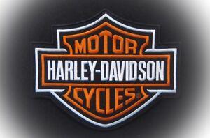 "Harley Davidson Bar & Shield ""Large"" Patch ""Ships International"""