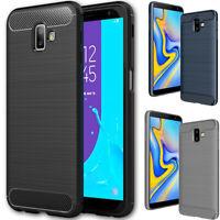 Case for Samsung Galaxy J6 Plus Slim Shockproof Silicone Gel RUGGED Cover