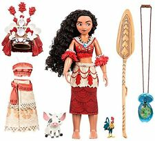 NEW Authentic Disney MOANA Singing Feature Doll Set 11 Inch FREE SHIPPING IN U.S