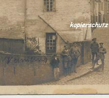 Foto/AK Soldat mit Brustschild-Ringkragen-Westfeldzug Ort/Stadt ?  (U834)