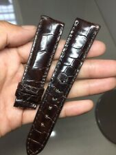 20/18 mm Genuine-ALLIGATOR-CROCODILE-SKIN-WATCH-STRAP-BAND