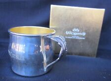 Oneida LTD 1881 Rodgers Silver Plate Engraved Cup Silverware Pattered Handle!!
