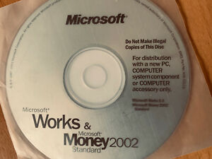 Microsoft Money 2002 Standard And Works