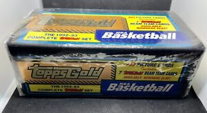 TOPPS GOLD 1992-93 NBA Basketball Complete Set•FACTORY SEALED BOX•Shaq RC