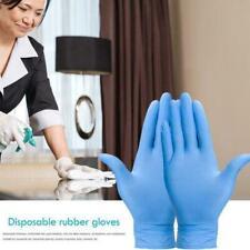 10 Pcs Nitrile Exam Gloves Latex & Powder Free Size Medium XL Small Large B5R6