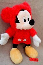 Peluche n°Q196: MICKEY 28CM Disney marque NICOTOY capuche amovible
