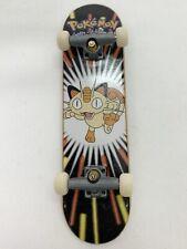 MEOWTH Tech Deck Nintendo Pokemon Mini Finger Skateboard FAST SHIPPING