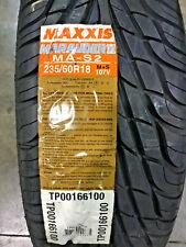 1 New 235 60 18 Maxxis Marauder II MA-S2 Tire
