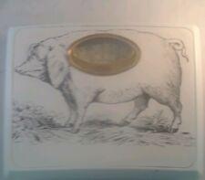 Borg Pig Hog Bathroom Retro Scale Dial Weight Kilo Pounds Novelty MCM Vtg Deber