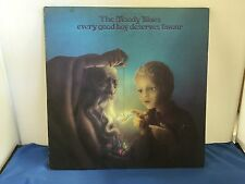 THE MOODY BLUES EVERY GOOD BOY DESERVES FAVOUR LP 33 VINTAGE ORIGINAL VINYL THS5