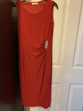 Precis Red Glamerous Shift dress Uk Size 6 NEW Rrp £135