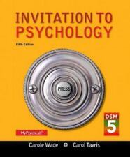 Invitation to Psychology with DSM-5 Update (5th Edition), Tavris, Carol, Wade, C