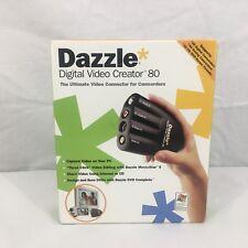 DAZZLE DVC-80 Digital Video Creator 80 Video Capture Device RCA USB Cable
