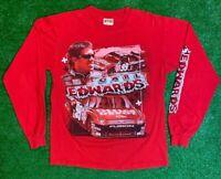 Nascar Chase Authentics M Long Sleeve T Shirt Carl Edwards Roush Fenway Racing