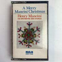 Henry Mancini A Merry Christmas (Cassette)