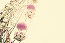 A1   Ferris Wheel Poster Art Print 60 x 90cm 180gsm Funfair Circus Gift #8585