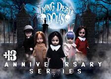 Living Dead Dolls 13th Anniversary set~Sin,Sadie,Posey,Eggzo rcist,Damien~ Nisb