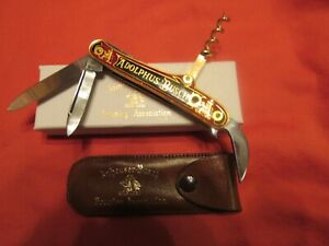 Vintage Anheuser Busch Stanhope Champagne Knife. c.1958 Germany. NMIB