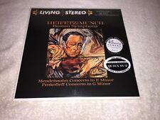 Mendelssohn Concerto in E minor Prokofieff Concerto in G Minor Heifetz Munch BSO