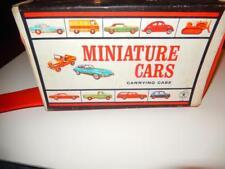 Vintage Mattel- 1965- Miniature Cars Carrying Case - Fair- S1