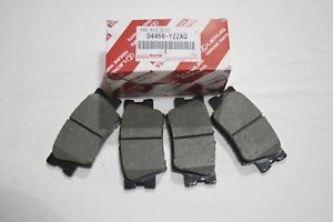 GENUINE LEXUS ES350  2007-2012 REAR BRAKE PAD SET 04466-06090 / 04466-YZZAQ OEM