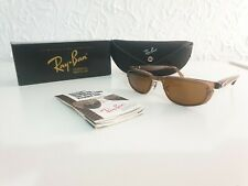 Ray ban W2665 spinal tap square flat Brown  G-15 bausch & lomb new old stock B&L