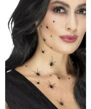 Halloween a Gattoni Ragni Tatuaggi Costume Tattoo Trasferibili Make Up Smiffys