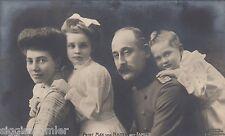 Prinz Max von Baden mit Familie Foto-AK Adel und Monarchie 1602537