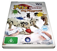 Petz Sports - Dog Playground Nintendo Wii PAL *Complete* Wii U Compatible