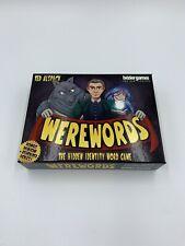 Werewords Card/Board Game Ted Alspach -Bézier Games