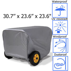 For Champion Generator Portable Weather Dustproof Storage Cover Large  !