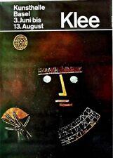 Original vintage poster EXPO BASEL PAUL KLEE c.1960 Hofmann