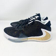 New Nike Zoom Freak 1 Coming to America Black/White/Gold BQ5422-900 Men's Sz 10