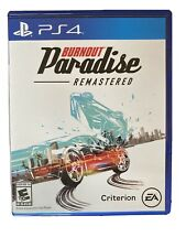 Burnout Paradise Remastered (Sony PlayStation 4, 2018)