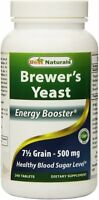 Brewer's Yeast by Best Naturals, 240 tablet 1000 mg