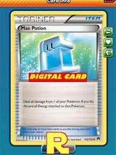 2x Max Potion (XY) - for Pokemon TCG Online (DIGITAL ptcgo in Game Card)