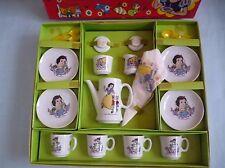 Disney Snow White Ceramic Tea Set in box Japan  1970's Vintage Toy NOS RARE!!