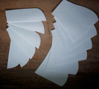 12 Stück Filz Pads für HKM Korrektur Lammfell Pad mit Taschen