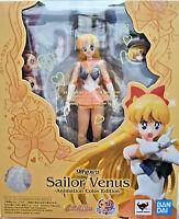 Sailor Venus da Sailor Moon Animation Color Ed - Bandai SH Figuarts 15cm - Nuova