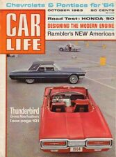 Car Life Magazine Thunderbird New Feathers October 1963 030618nonr