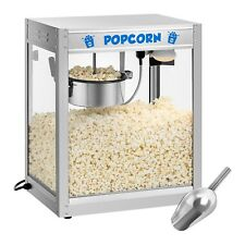 Popcorn Maker Retro Popcorn Machine Professional 1350W Teflon Pot Commercial New